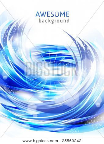 abstract blue backgrounds with water splash