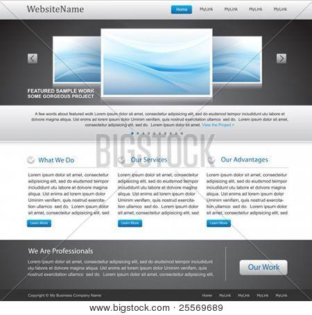 plantilla de sitio web de negocios