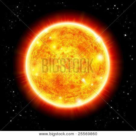Sun - Raster version