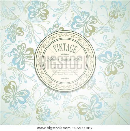 Elegant vintage invitation
