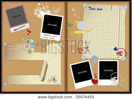 Framework album book
