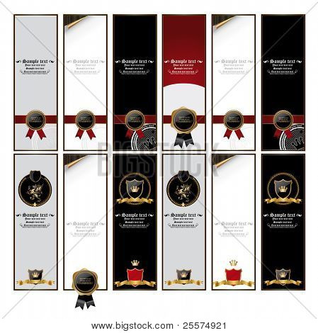 The big set of royal bookmarks