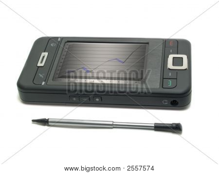 Smartphone With Diagram
