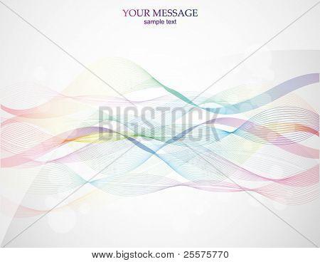 Abstrato colorido. Vector.