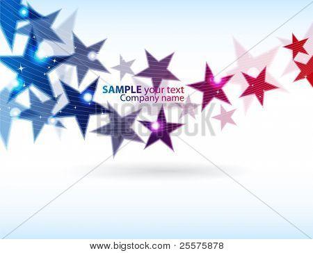 abstrakt colorful Background. Vektor.
