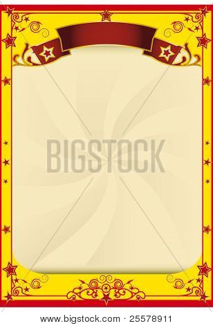 Star circus background. A background for your advertising.