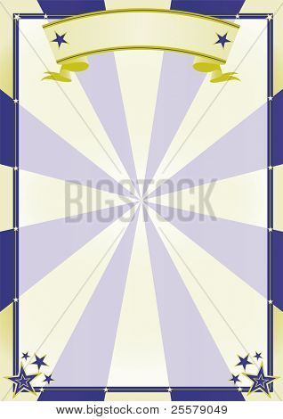 Circus Poster. A background for your advertising.
