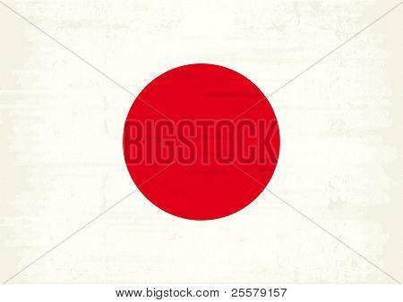 Japan grunge Flag A japan grunge Flag with a texture