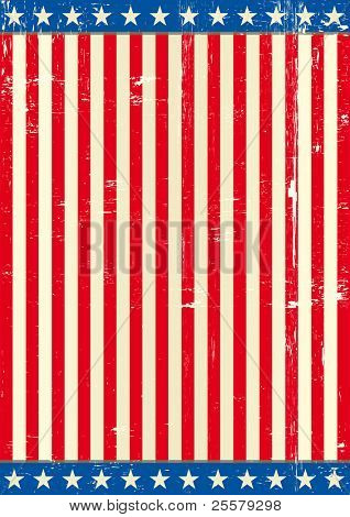 United states grunge background flag A patriotic flag for you