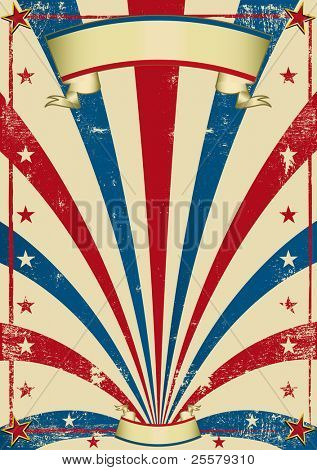 circus vintage poster. A vintage circus background with a texture for a poster.