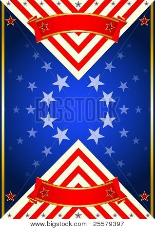 Poster of USA. A new poster for the 4 th July