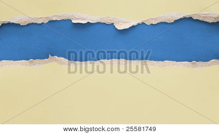rasgado de papel