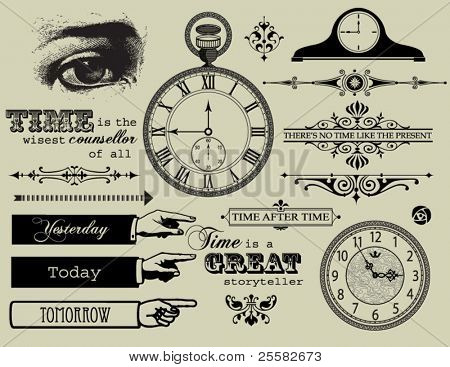 Design elements - Time Collection