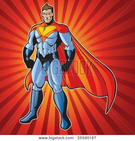 Hombre super humano genérico