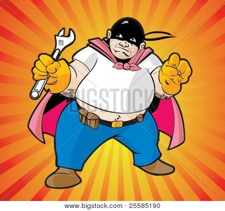 Super hero worker