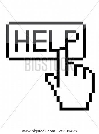 """Vector """"help"""" sign"""