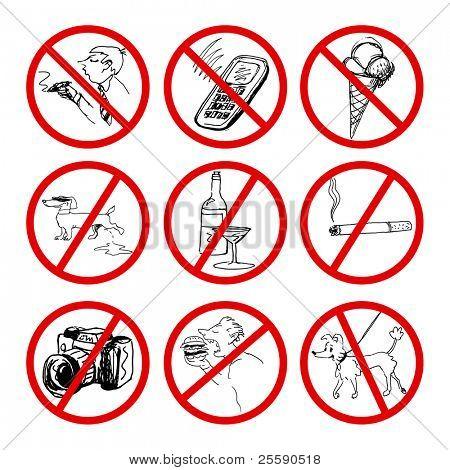 set of ban