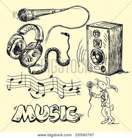 Musik Kritzeleien
