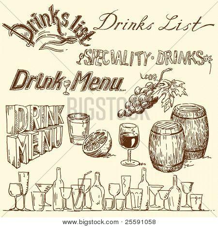 Carta de bebidas