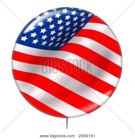 Election Day Vote Button 2