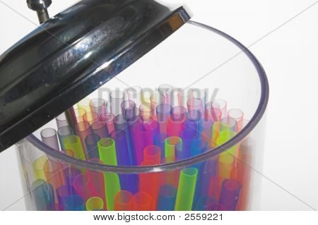 trinken Trinkhalme