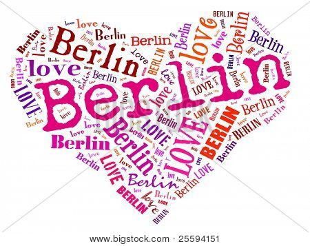 Love heart of  Berlin
