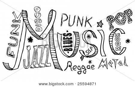 Music doodles