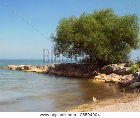 Sunny day Hamlin Beach