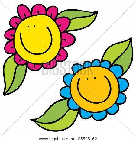 Florecita animada - Imagui