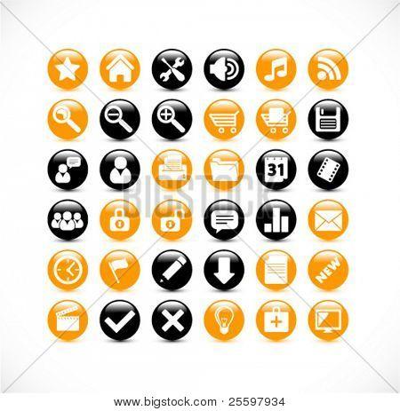 modern internet icons