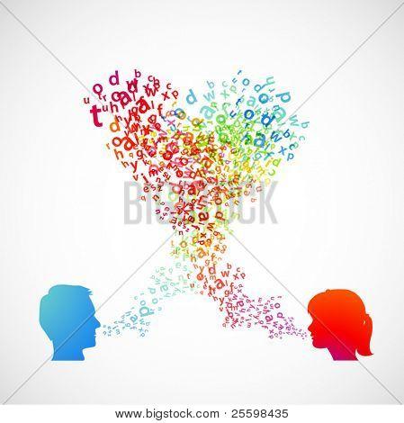 comunicação entre homem e mulher