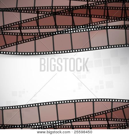 filmstrip vector background