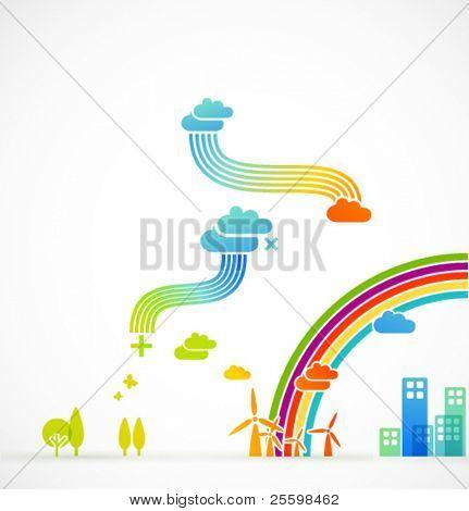 modern ecological illustration