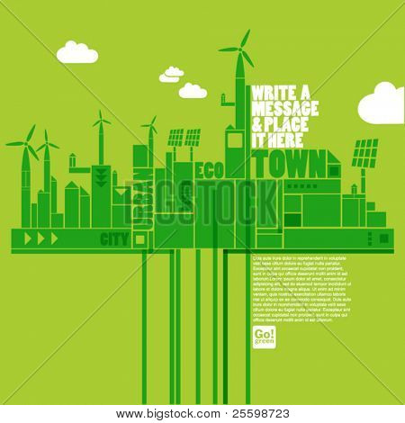 green eco town
