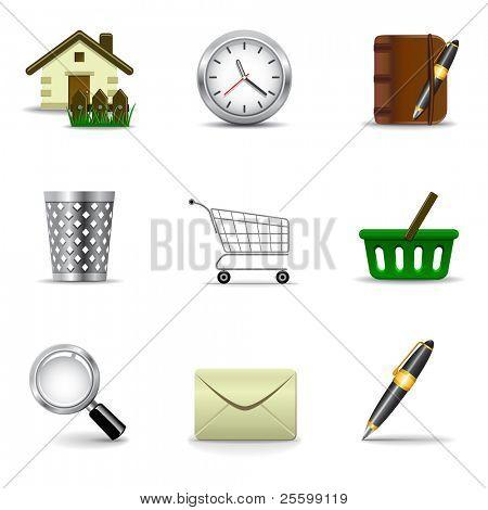 Web icons set 2