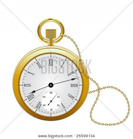 Pocket watch highly detailed