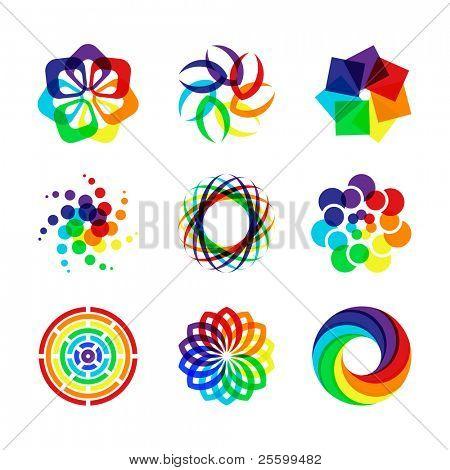 Símbolos de arco-íris