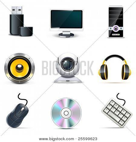 Los iconos de computadora | Bella serie