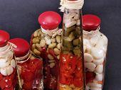 Vinegar Bottles 128