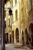 Medieval Street In France poster