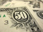 image of twenty dollar bill  - Cash closeup - JPG