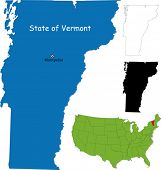 stock photo of burlington  - State of Vermont - JPG