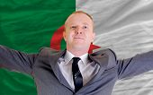 Happy Businessman Because Of Profitable Investment In Algeria