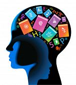 picture of cognitive  - child brain book - JPG