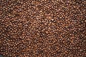 Coffee Bean Background Arabica Coffee Roasted Coffee Bean Background Arabica Coffee Roasted poster
