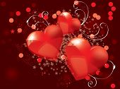stock photo of san valentine  - Valentines background - JPG