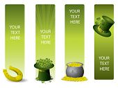 pic of saint patricks day  - Set of vector banners for St - JPG