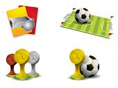 pic of offside  - Soccer icon set vector - JPG