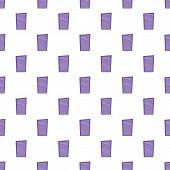 Blinds Pattern. Cartoon Illustration Of Blinds Pattern For Web poster