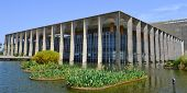 image of brasilia  - Itamaraty Palace Of Brasilia th capital of Brazil - JPG
